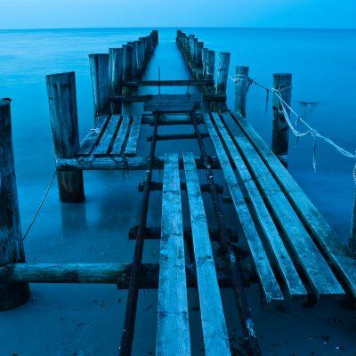 Blaue Stunde an Ostsee / Blue Hour at Blatic Sea