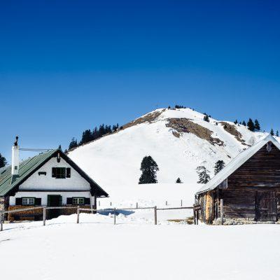 Hütte in der Jachenau