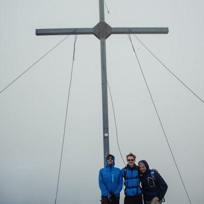 Gipfelkreuz der Vermoispitze (2.930m)