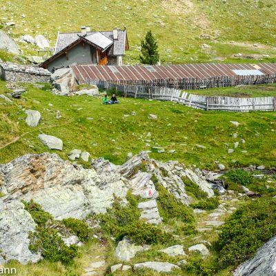 Penaudalm im gleichnamigen Tal, einem Seitental des Schnalstals.